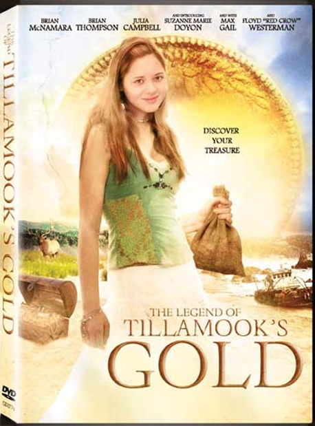 The Legend of Tillamook's Gold DVD Cover